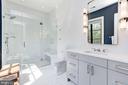 Bedroom #1 Full Bath - 8905 HOLLY LEAF LN, BETHESDA