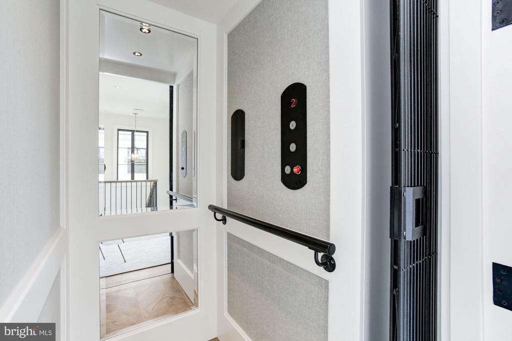 Guest House Elevator - 8905 HOLLY LEAF LN, BETHESDA