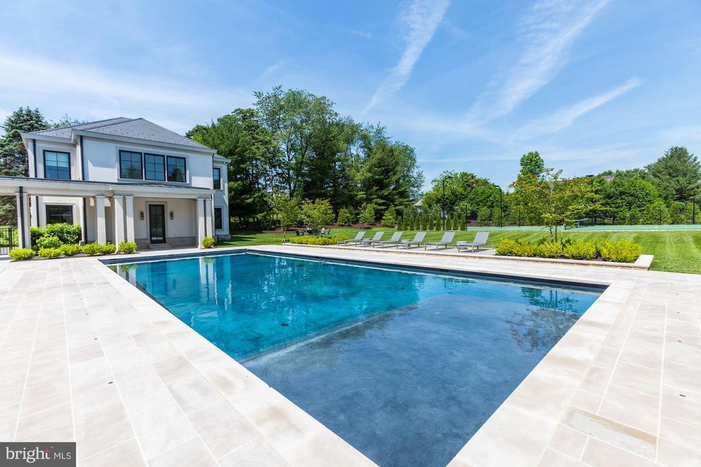 Pool - 8905 HOLLY LEAF LN, BETHESDA