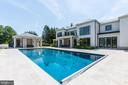 Pool/Exterior View - 8905 HOLLY LEAF LN, BETHESDA