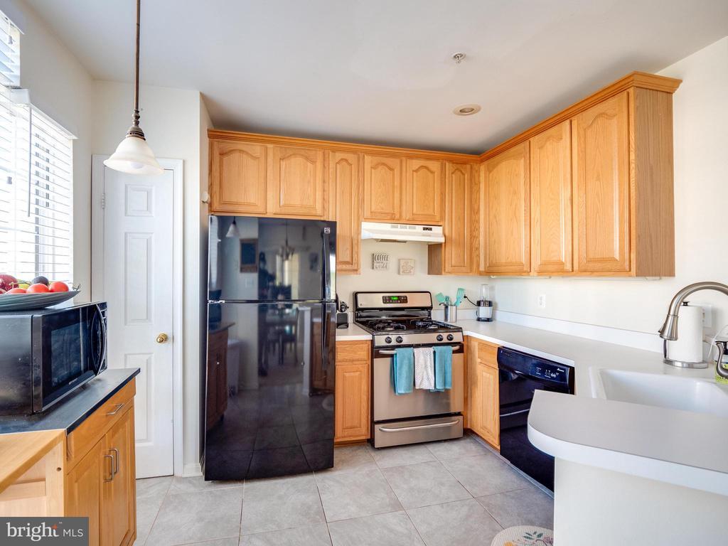 Beautiful & bright kitchen - 25300 LAKE MIST SQ #205, CHANTILLY