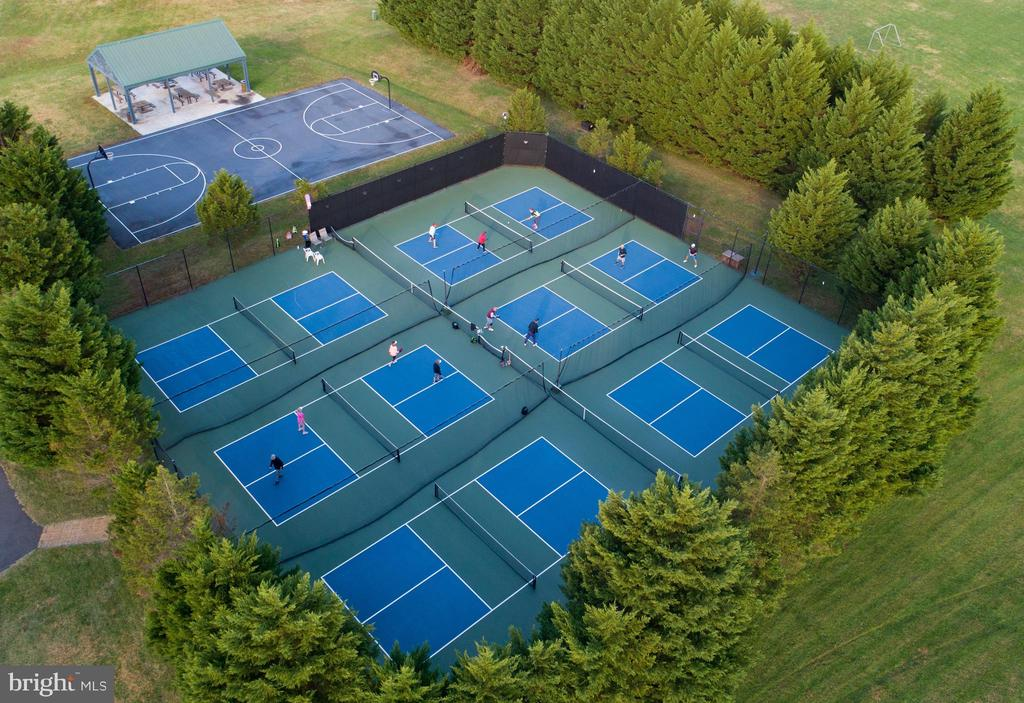 Pickle Ball is Popular at the Sports Park - 11500 TURNING LEAF CT, SPOTSYLVANIA