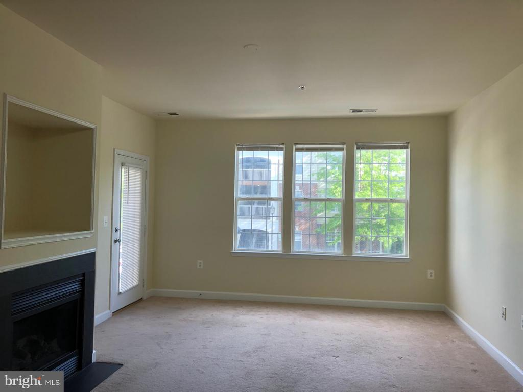 Wall of windows for extra light - 22664 BLUE ELDER TER #202, BRAMBLETON