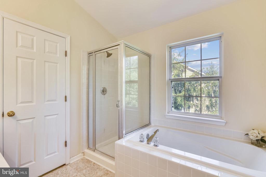 Separate Tiled Shower & Soaking Tub - 21657 FRAME SQ, BROADLANDS