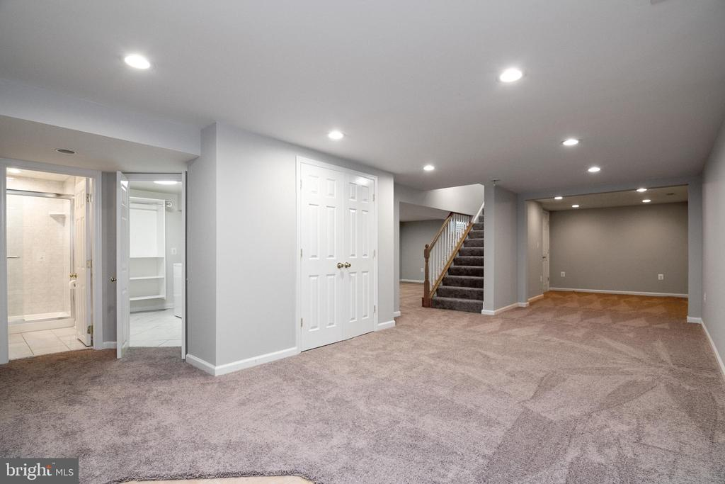 Finished Lower Level - 19220 LIBERTY MILL RD, GERMANTOWN