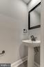 Powder bathroom - 1328 N ADAMS CT, ARLINGTON