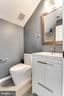 Full bath, attic - 1328 N ADAMS CT, ARLINGTON
