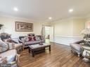2nd View of the Family Room - 12809 GLENDALE CT, FREDERICKSBURG