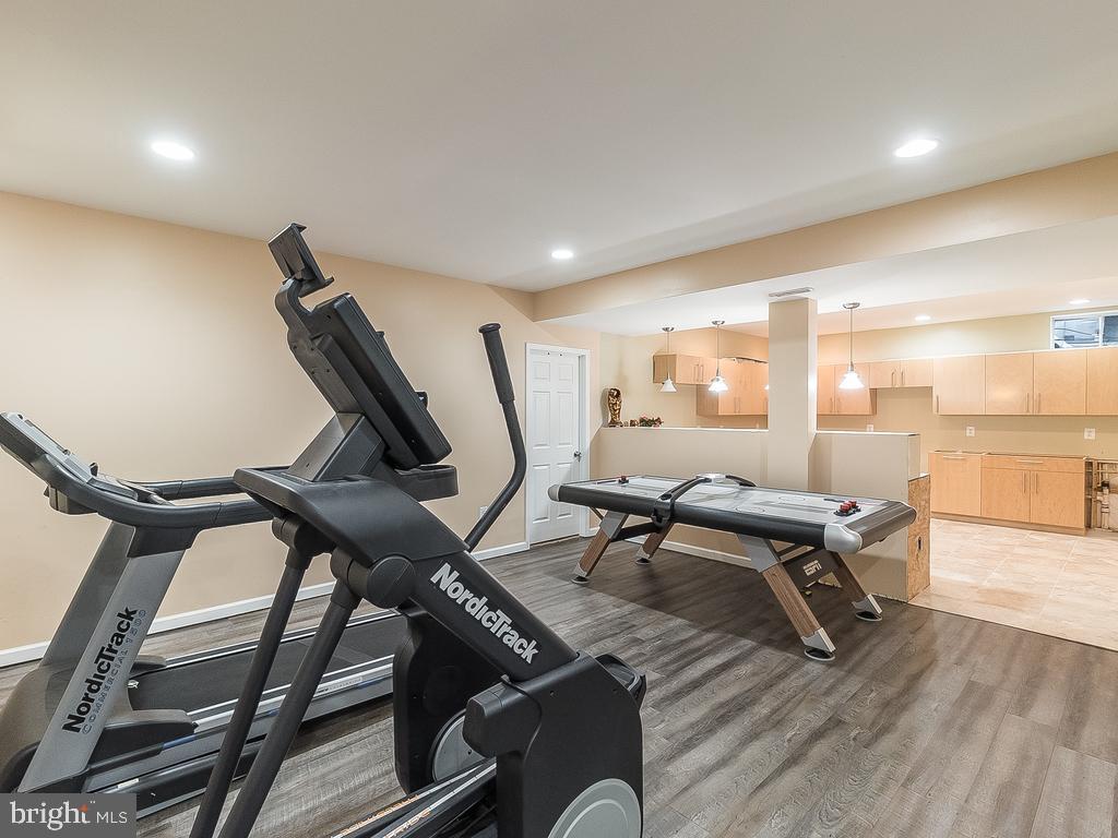 Basement Fitness Area -2 - 12809 GLENDALE CT, FREDERICKSBURG