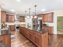 Main Kitchen -Open Floor Plan - 12809 GLENDALE CT, FREDERICKSBURG