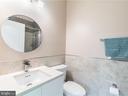 Nanny Suite Bathroom - 12809 GLENDALE CT, FREDERICKSBURG