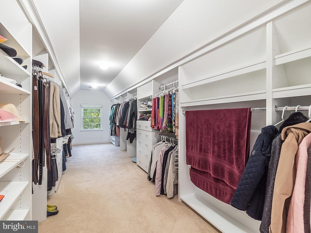 Huge Walk-in Custom Closet-Master Suite - 12809 GLENDALE CT, FREDERICKSBURG