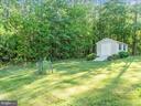New Built Huge Shed/Storage in Backyard - 12809 GLENDALE CT, FREDERICKSBURG