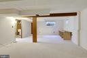 Another view of Rec Rm - endless possibilities - 2415 EVANS DR, SILVER SPRING
