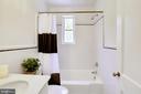 Updated Main Floor Full Bath - 2415 EVANS DR, SILVER SPRING
