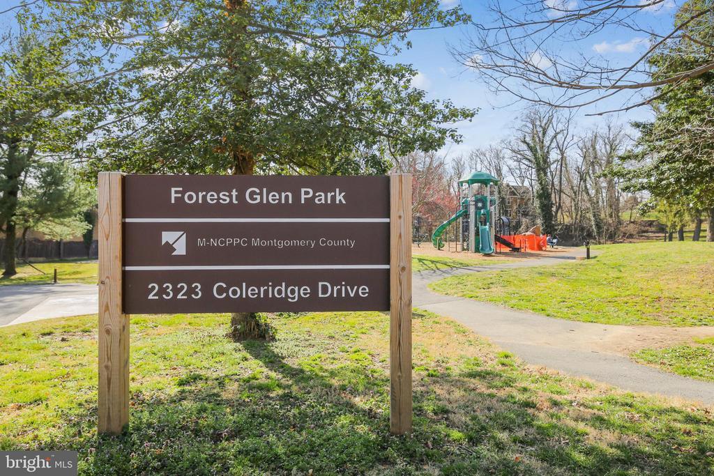 Forest Glen Park - 2415 EVANS DR, SILVER SPRING