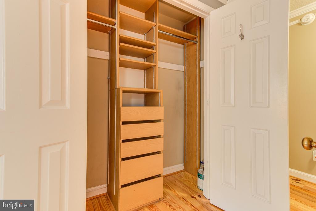 Closets with updated shelves! - 4345 MASSACHUSETTS AVE NW #4345, WASHINGTON