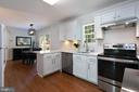 Pic 3- Remodeled Kitchen - 5 BARNSWALLOW CT, STERLING