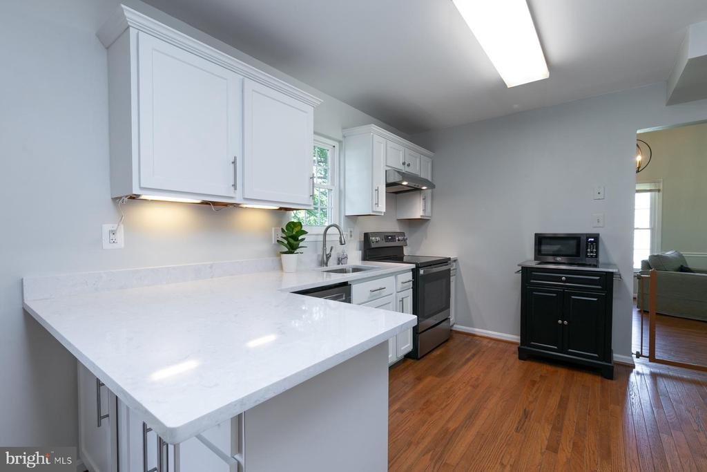 Pic 1- Remodeled Kitchen - 5 BARNSWALLOW CT, STERLING