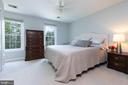 Pic 1- Master Bedroom - 5 BARNSWALLOW CT, STERLING