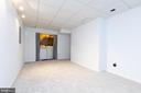 Pic 2-Basement Recreation Room w/ Washer And Dryer - 5 BARNSWALLOW CT, STERLING