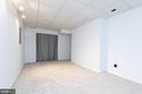 Pic-3 Basement Recreation Room - 5 BARNSWALLOW CT, STERLING