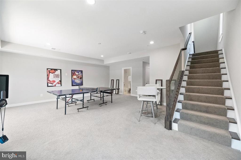 lower level rec room - 1800 BLUE MARBLE TER SE, LEESBURG