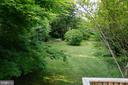 Incredible private, secluded rear, fenced yard - 2415 EVANS DR, SILVER SPRING