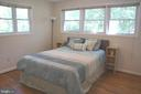 Main Floor Bedroom with newer windows - 2415 EVANS DR, SILVER SPRING