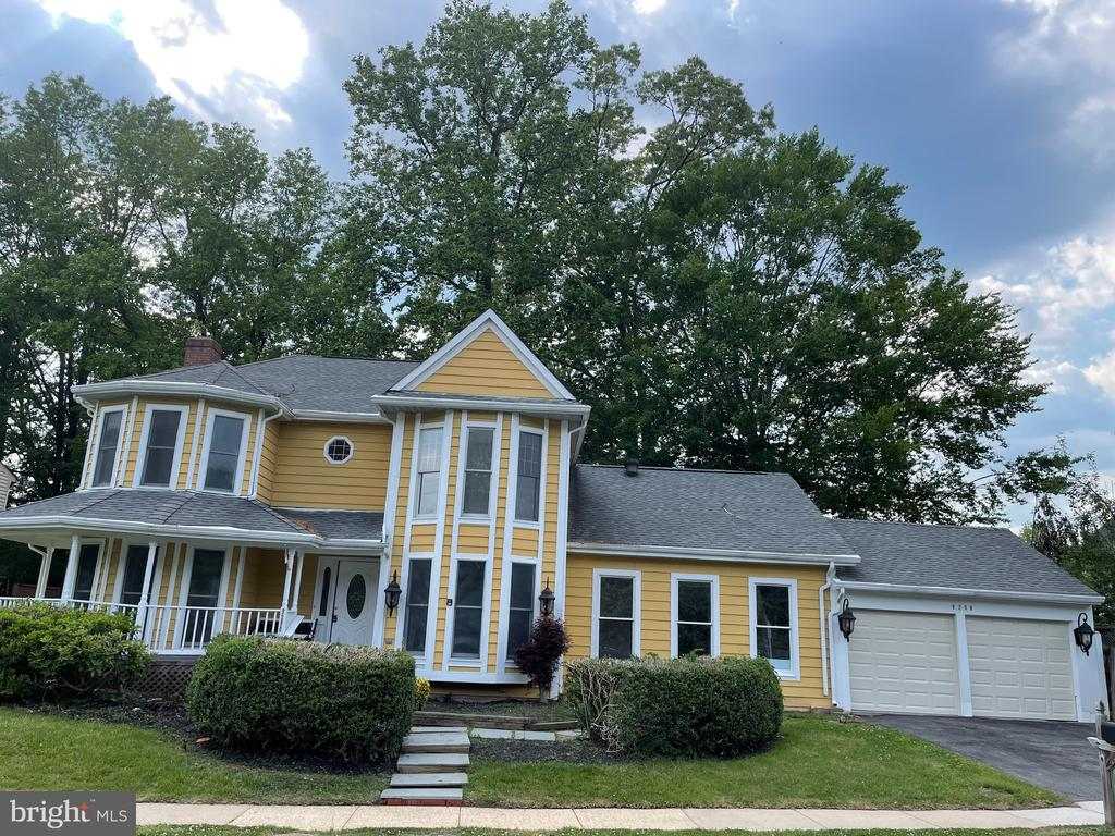 Front of the house - 9290 MAINSAIL DR, BURKE