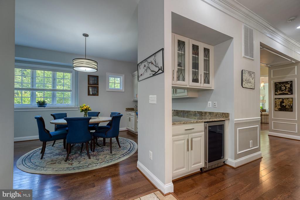 Butler's pantry, wine fridge. - 42091 NOLEN CT, LEESBURG