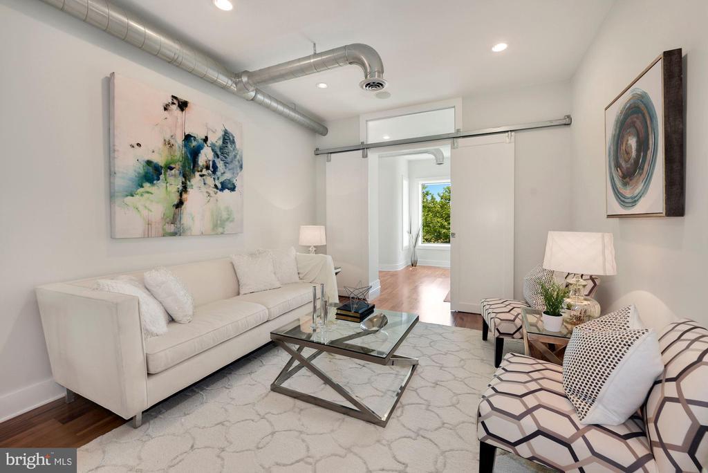 Living Room - 2419 1ST ST NW #2, WASHINGTON