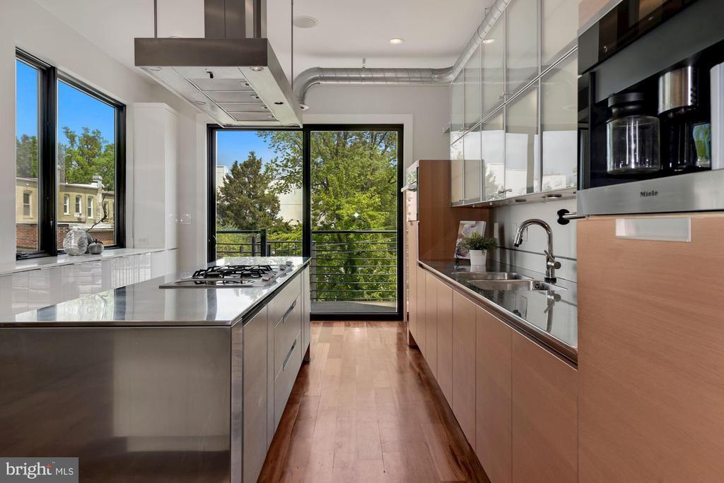 Kitchen - 2419 1ST ST NW #2, WASHINGTON