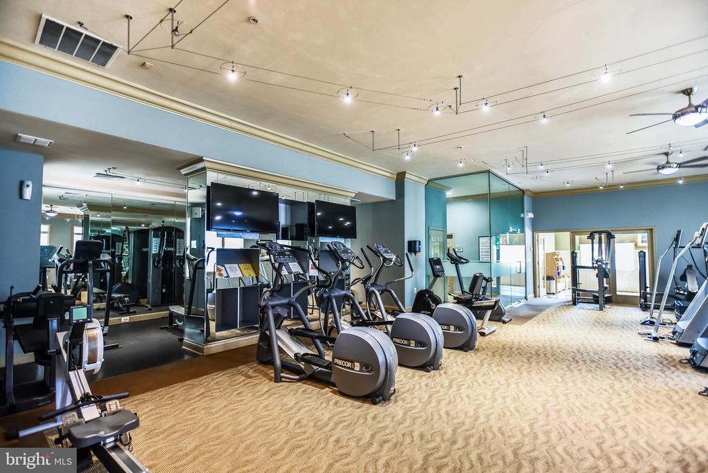 Fitness Room - 22725 THIMBLEBERRY SQ #203, BRAMBLETON