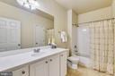 Main Bath Room - 22725 THIMBLEBERRY SQ #203, BRAMBLETON