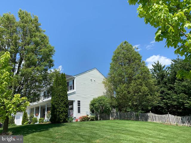 Side View of yard - 500 ROSEMARY LN, PURCELLVILLE