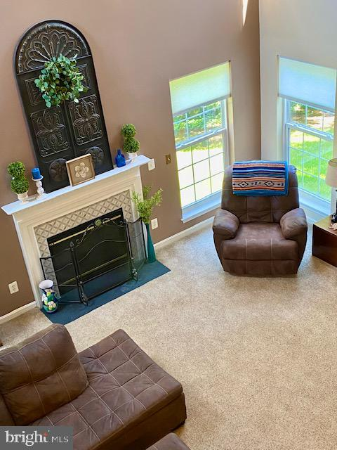 View of Family Room from Upper level hall - 500 ROSEMARY LN, PURCELLVILLE