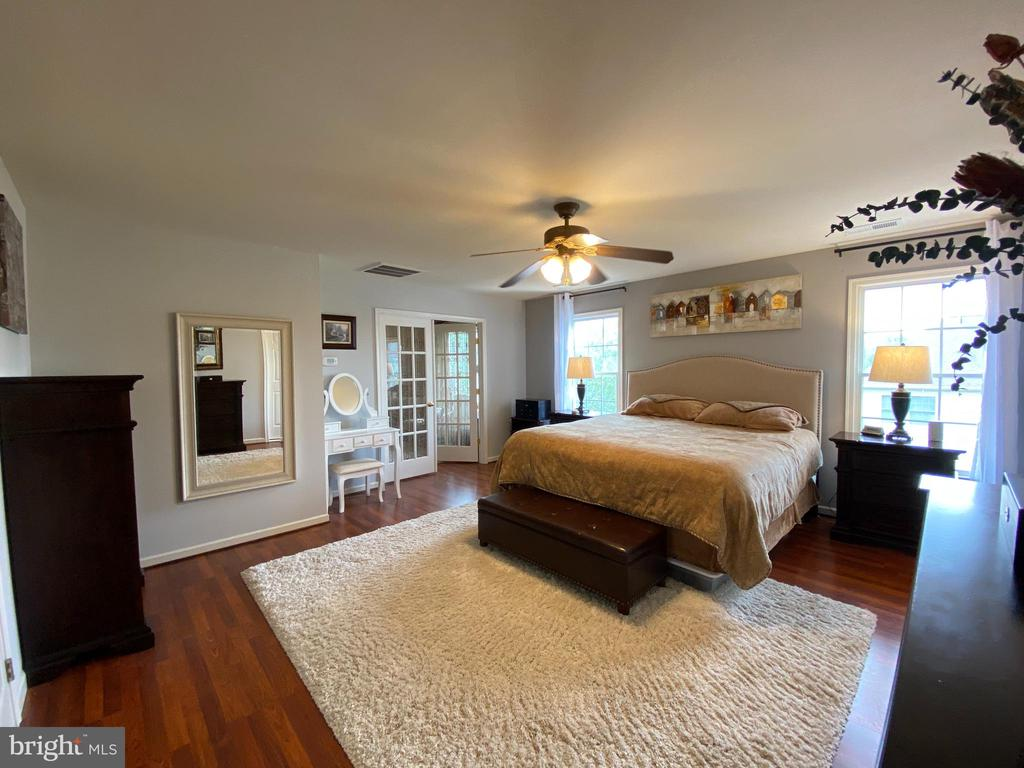 Huge Master Suite with Private Sitting Area - 20343 FISHERS ISLAND CT, ASHBURN