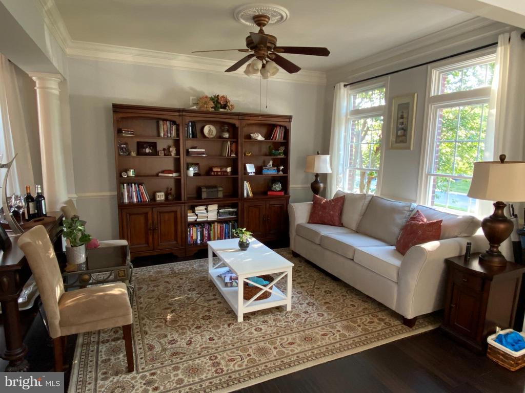 Formal Living Room or Library - 20343 FISHERS ISLAND CT, ASHBURN