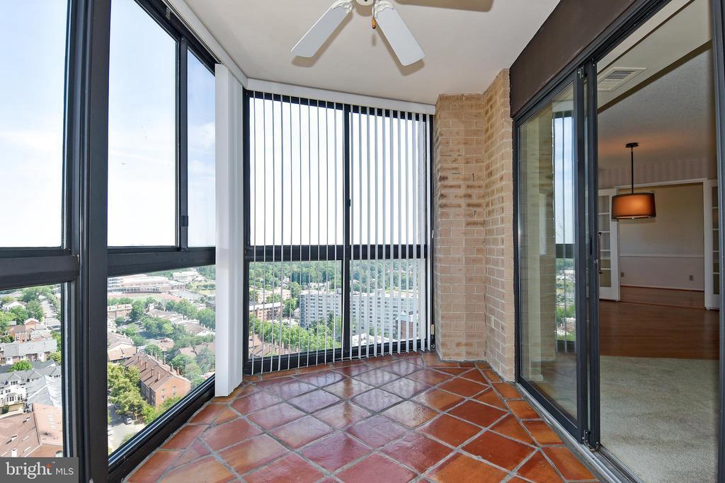 Balcony off Living Room - 900 N STAFFORD ST #2531, ARLINGTON