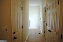 Hallway from garage - 8250 OLD COLUMBIA RD, FULTON