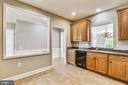 Kitchen With Corian Countertops - 44484 MALTESE FALCON SQ, ASHBURN