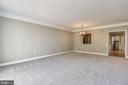 Living Room With New Carpet - 44484 MALTESE FALCON SQ, ASHBURN