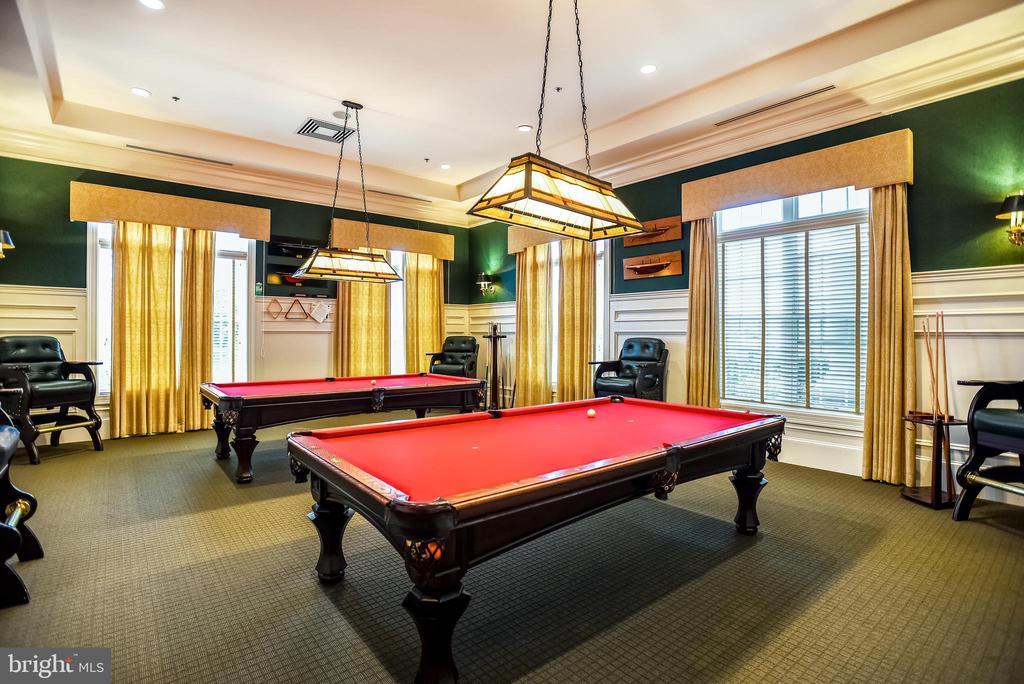 Potomac Green Billiards Room - 44484 MALTESE FALCON SQ, ASHBURN