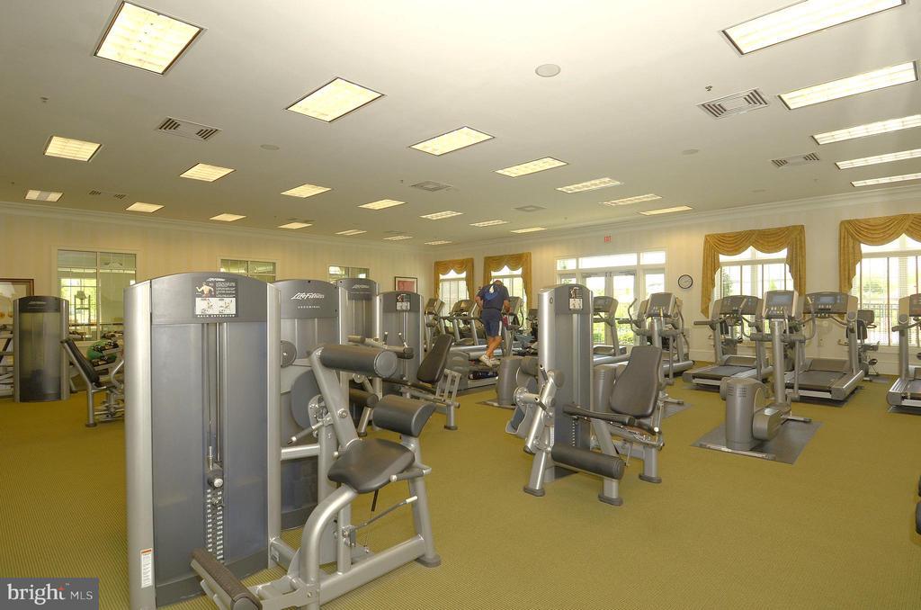 Potomac Green Fitness Center - 44484 MALTESE FALCON SQ, ASHBURN