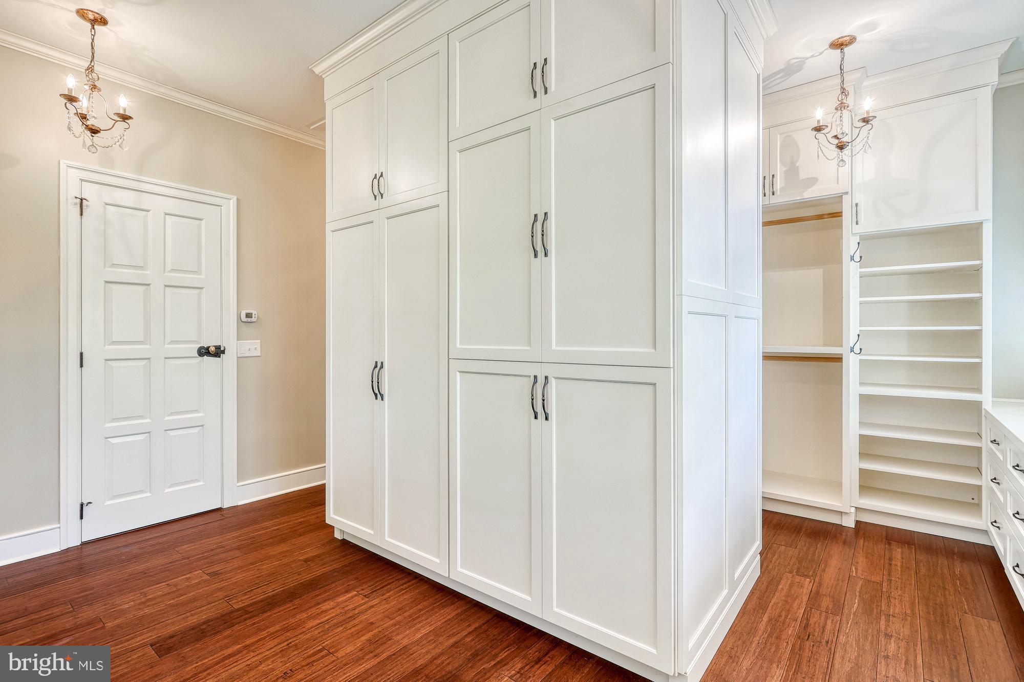 custom closet for master bedroom