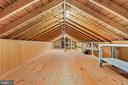 Great attic storage space - 13709 STRAFFORD DR, THURMONT