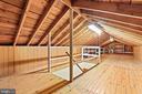 Walk-up attic - nice - 13709 STRAFFORD DR, THURMONT