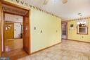Walkthrough to family room on both sides - 13709 STRAFFORD DR, THURMONT