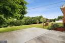 Concrete patio in backyard - 13709 STRAFFORD DR, THURMONT